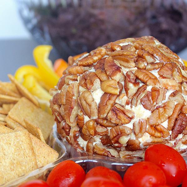 YUM! The perfect cheeseball recipe.