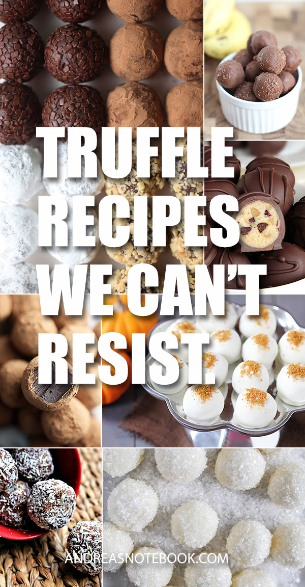 Irresistible Truffle Recipes
