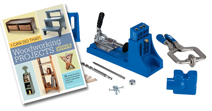 Everything to get started woodworking! Just add wood!
