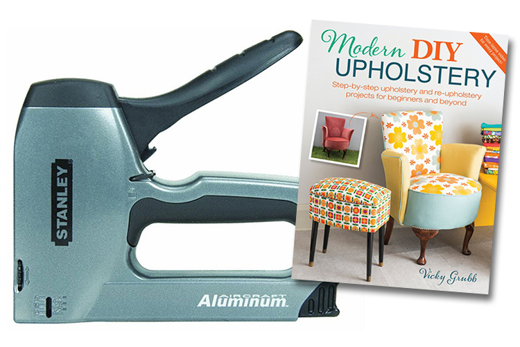 Learn how to upholster!