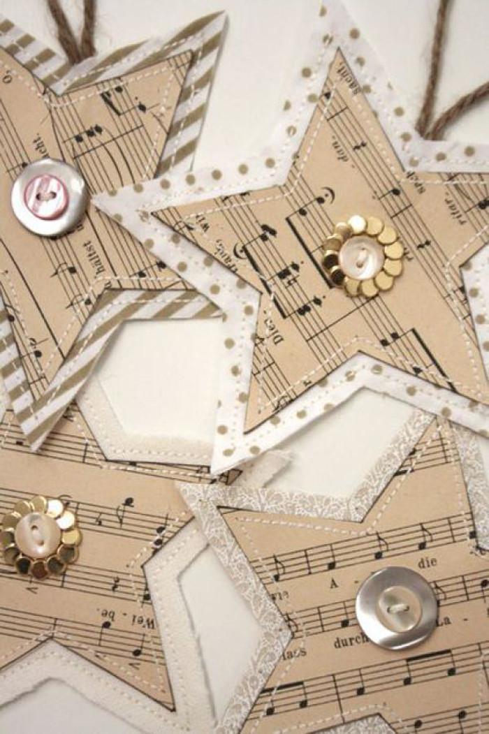DIY Star Paper Ornament