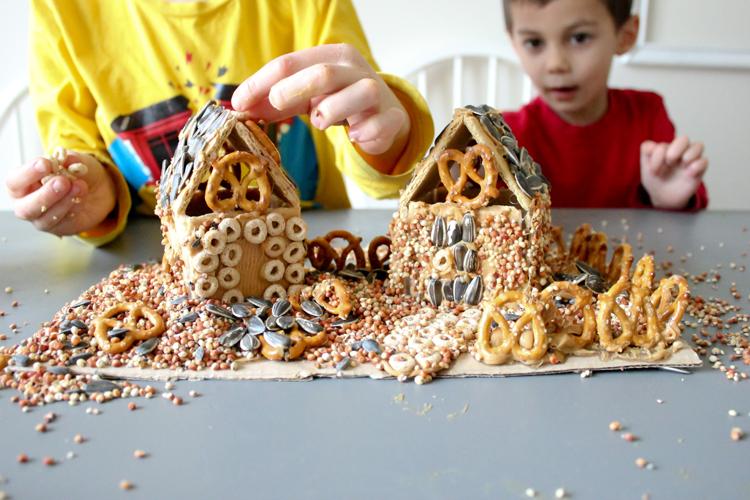 Make Gingerbird Houses