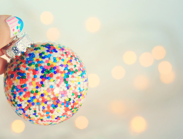 Make a candy ornament!