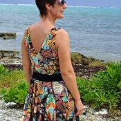 FREE sewing pattern! Women's dress free sewing pattern