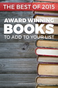 Award Winning Books from 2015 - must read!