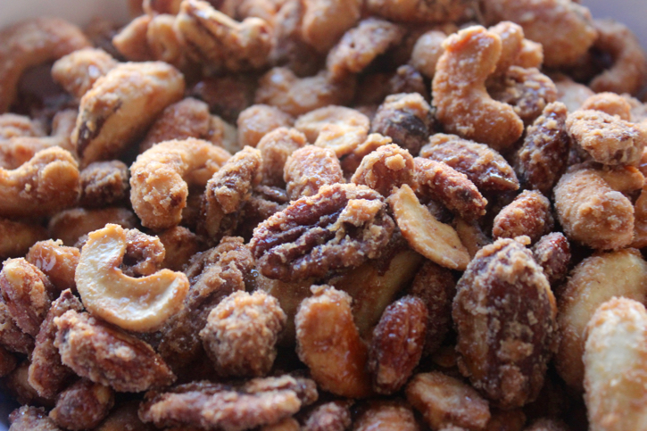 Candied Cinnamon Nuts