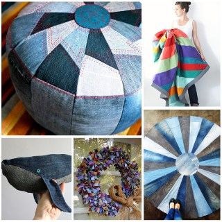 Upcycled Denim Tutorials (lots!!)