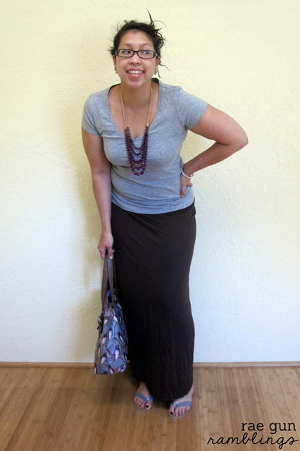 Simple DIY Maxi Skirt