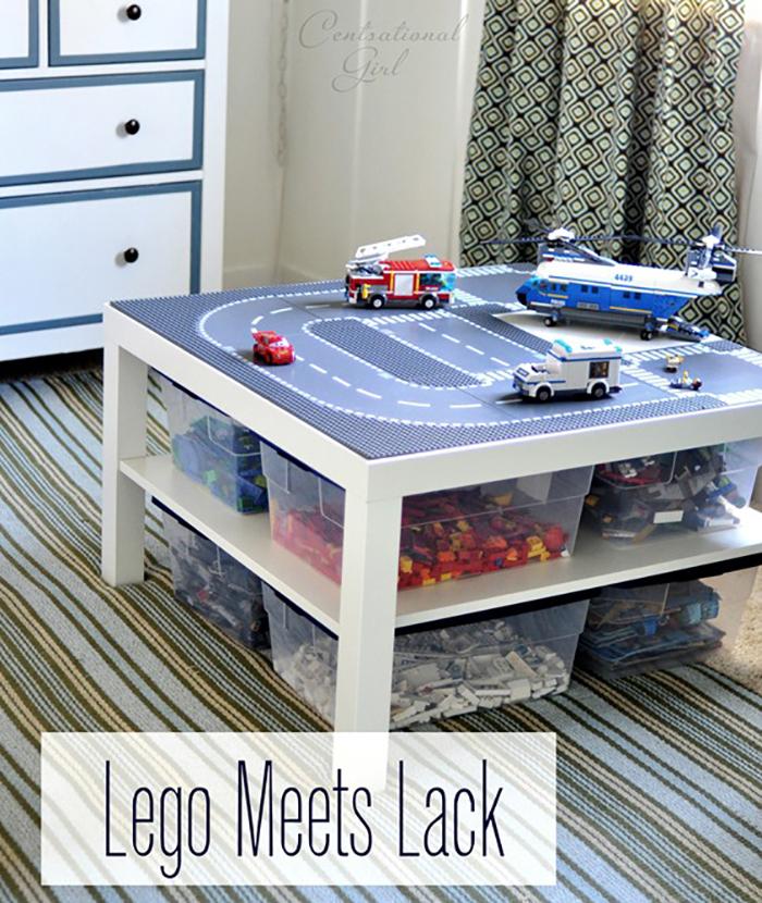 DIY Lego Table Tutorial