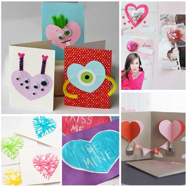 homemade Valentine's Day card tutorials