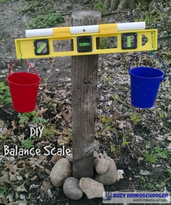 DIY balance scale