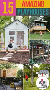Amazing DIY Playhouses and Treehouses