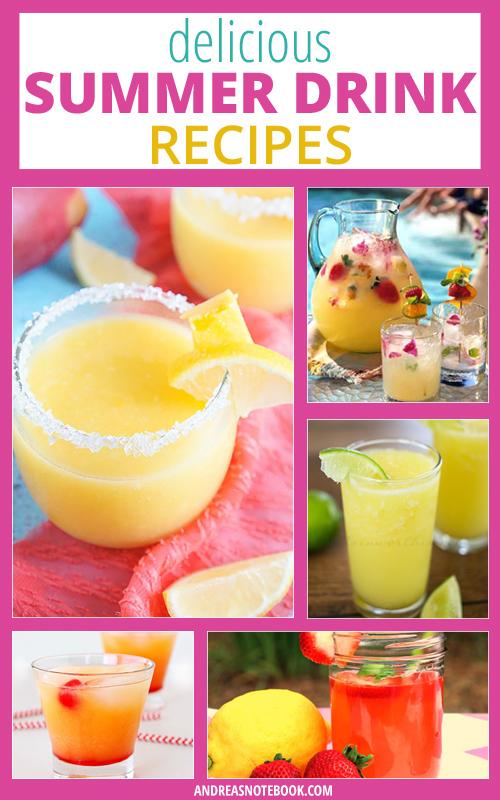 Delicious Summer Drink Recipes - Non-Alcoholic