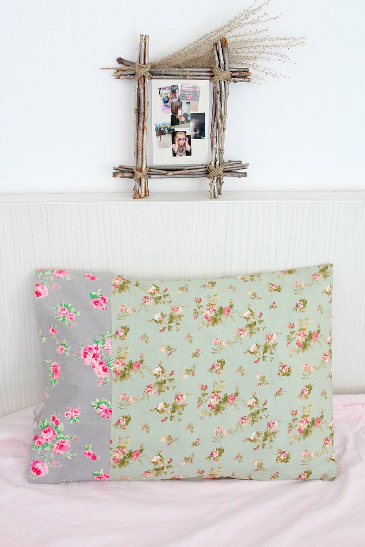 DIY pillowcase tutorial - easy sew tutorial