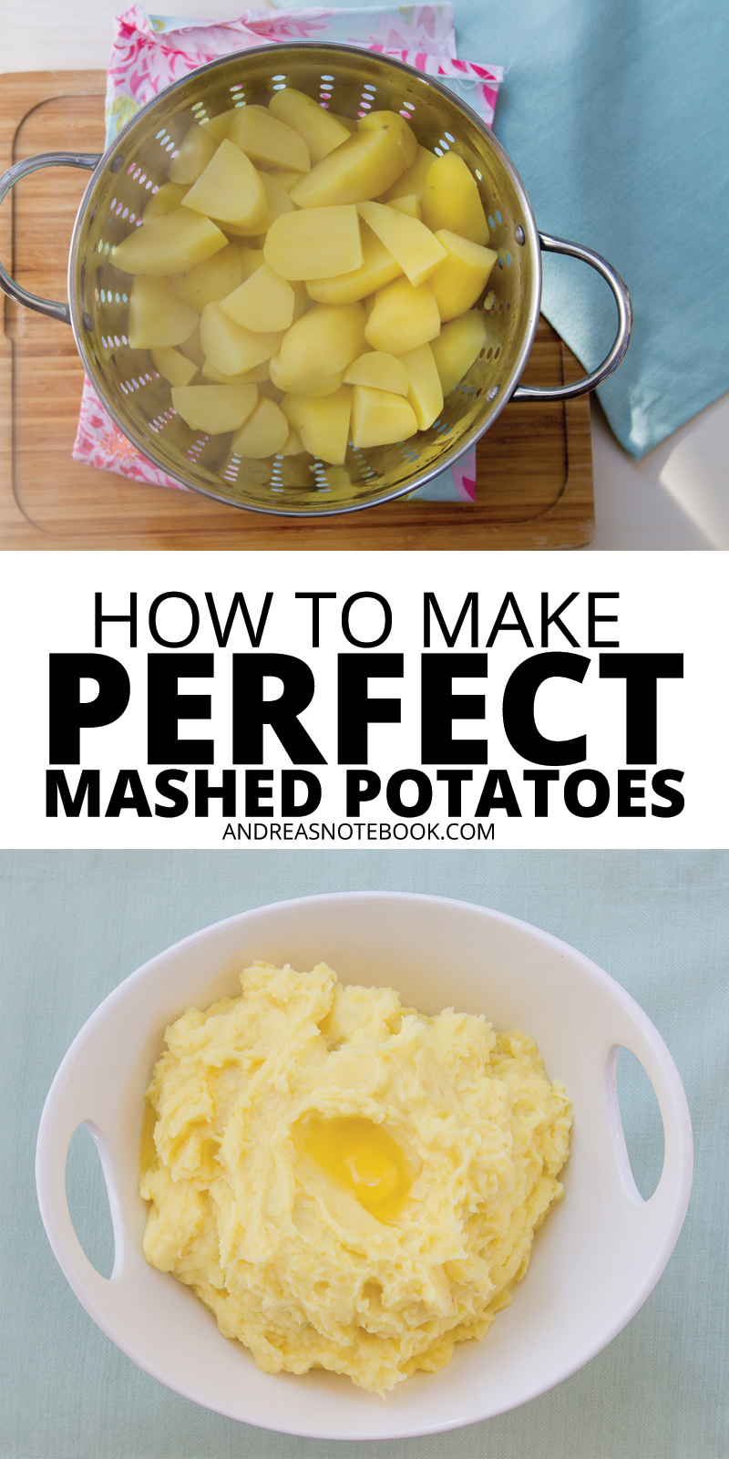How to make perfect mashed potatoes every time