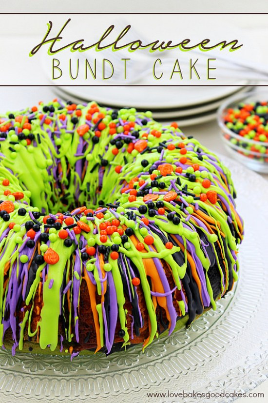 Halloween Bundt Cake Recipe
