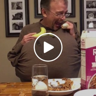 skit funny banana cereal milk