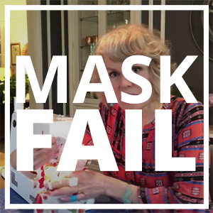 mask fail video