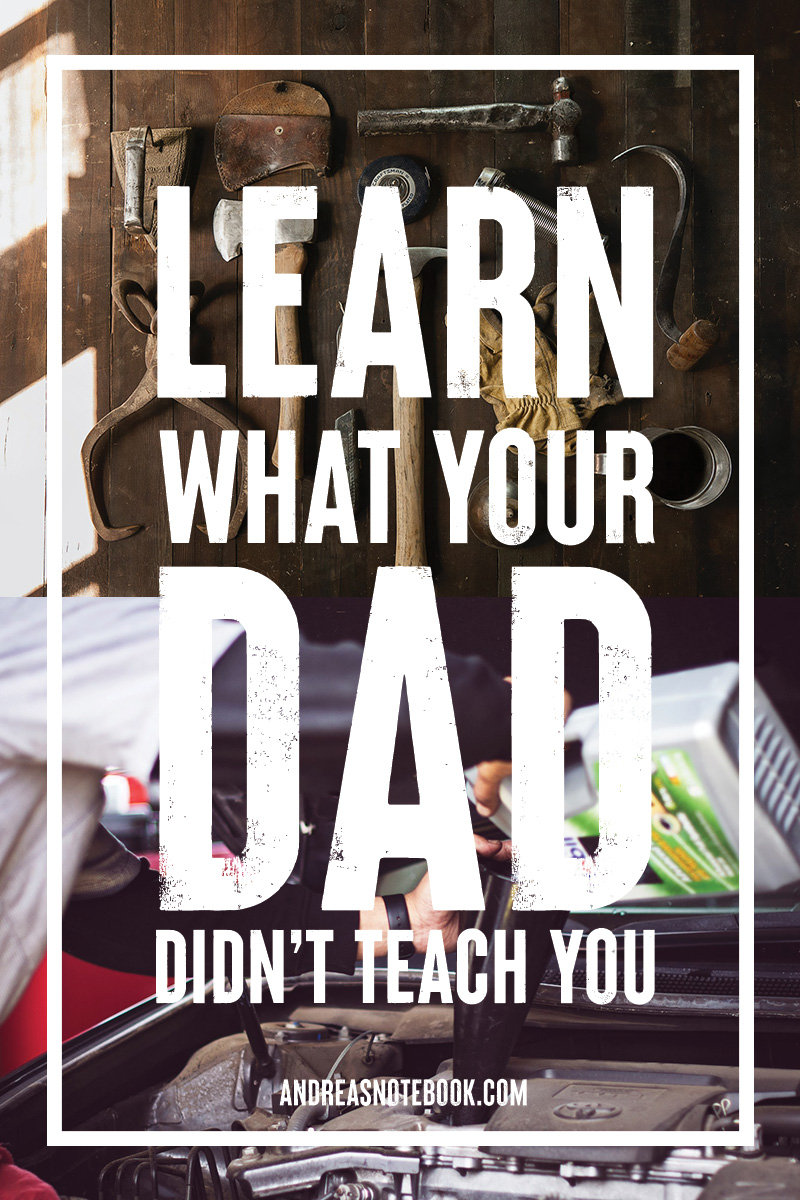 Learn what your dad didn't teach you car oil tools