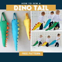 How To Make A Dino Tail