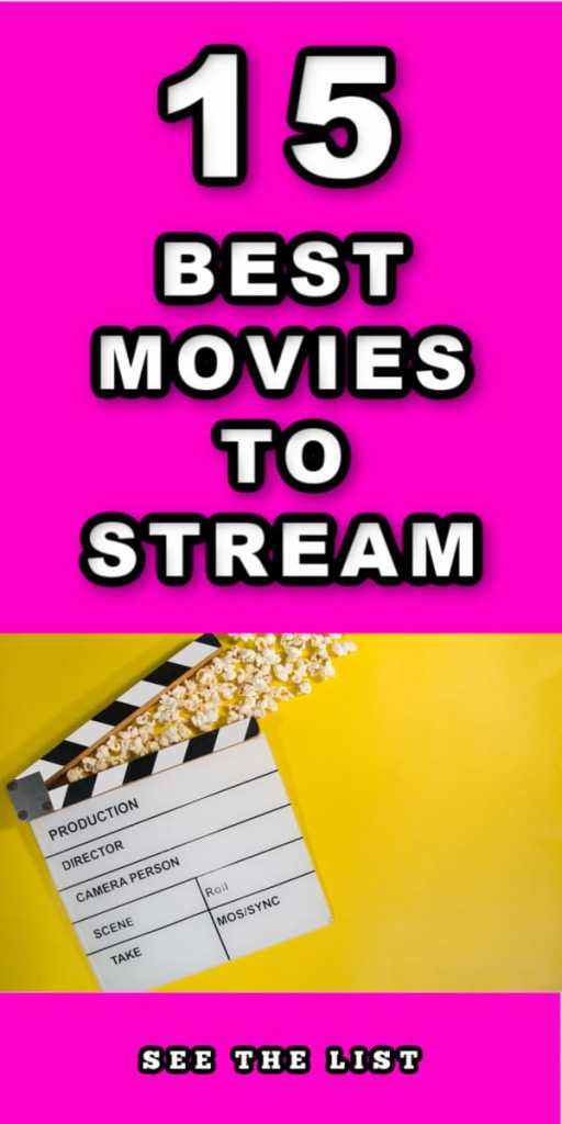 15 Must Watch Movies! fuscia yellow pink popcorn