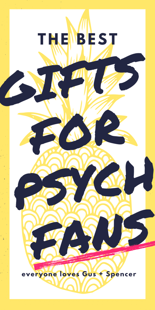gifts for psych fans