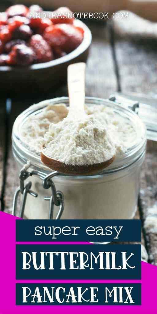 buttermilk pancake mix in jar 2