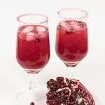 Pomegranate Ginger Chile Nojito Cocktail - Andrea Meyers