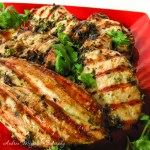 Thai Grilled Chicken with Cilantro Sauce - Andrea Meyers