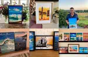 Art Collage Homepage Paintings