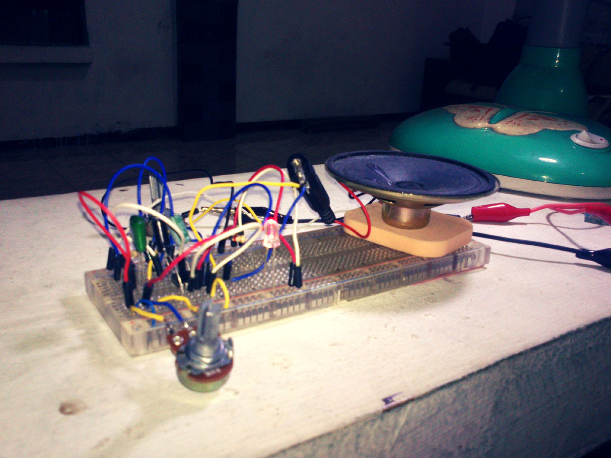 555 Simple Oscillator Schematic Andreas Siagian