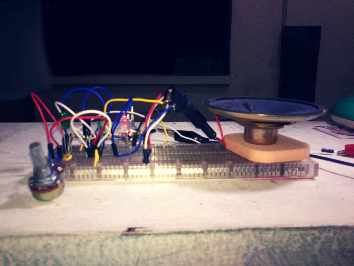 555 Simple Oscillator Schematic Andreas Siagian