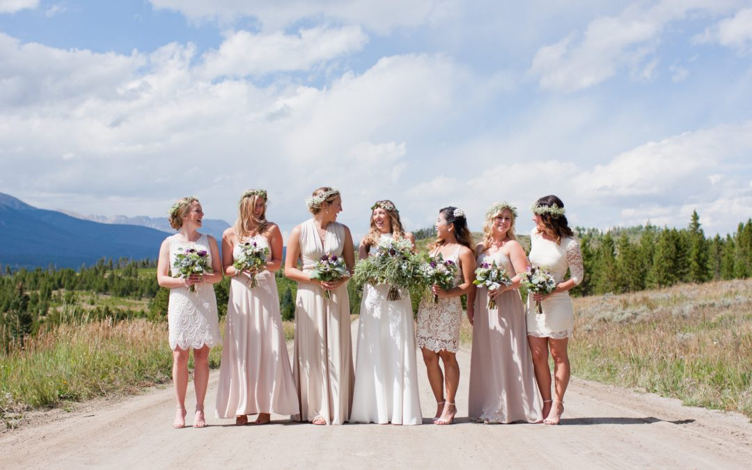 Emma and Brian Silverthorne, Colorado Wedding