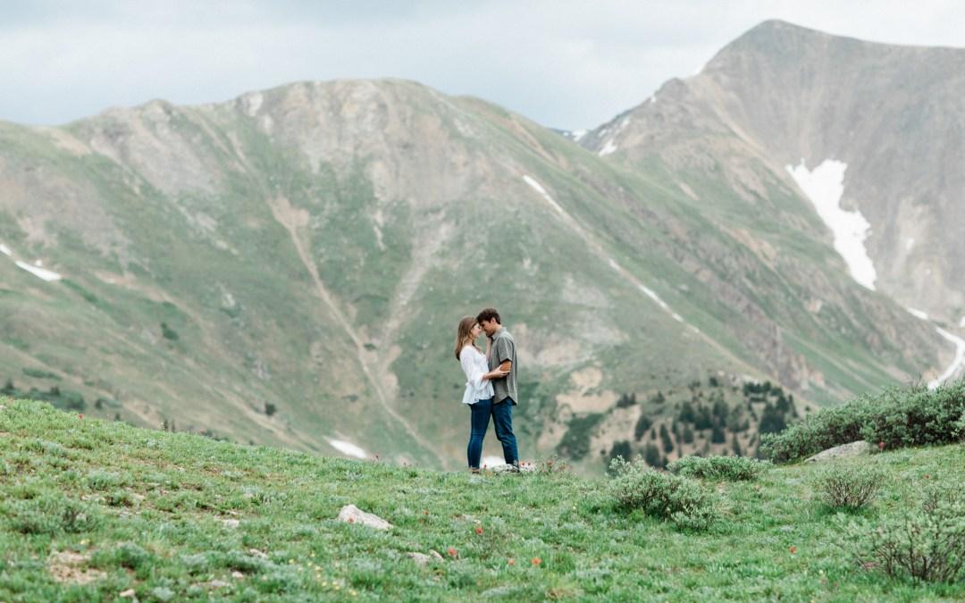 Annie and Connor Engagement Session Breckenridge, Colorado