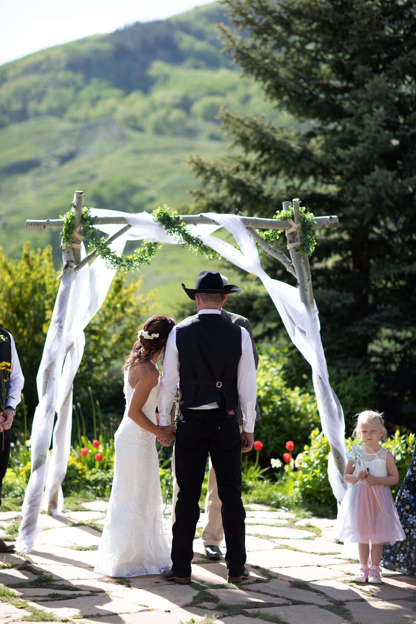 Crested Butte Mountain Wedding Garden 21