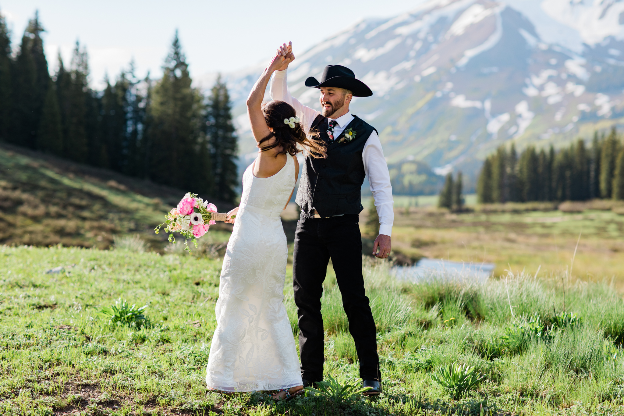 Summer Mountain Wedding