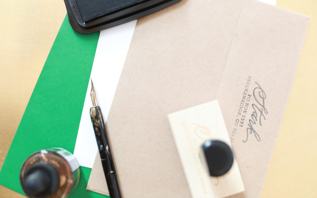 My 5 Tips on Addressing Envelopes For Christmas Cards