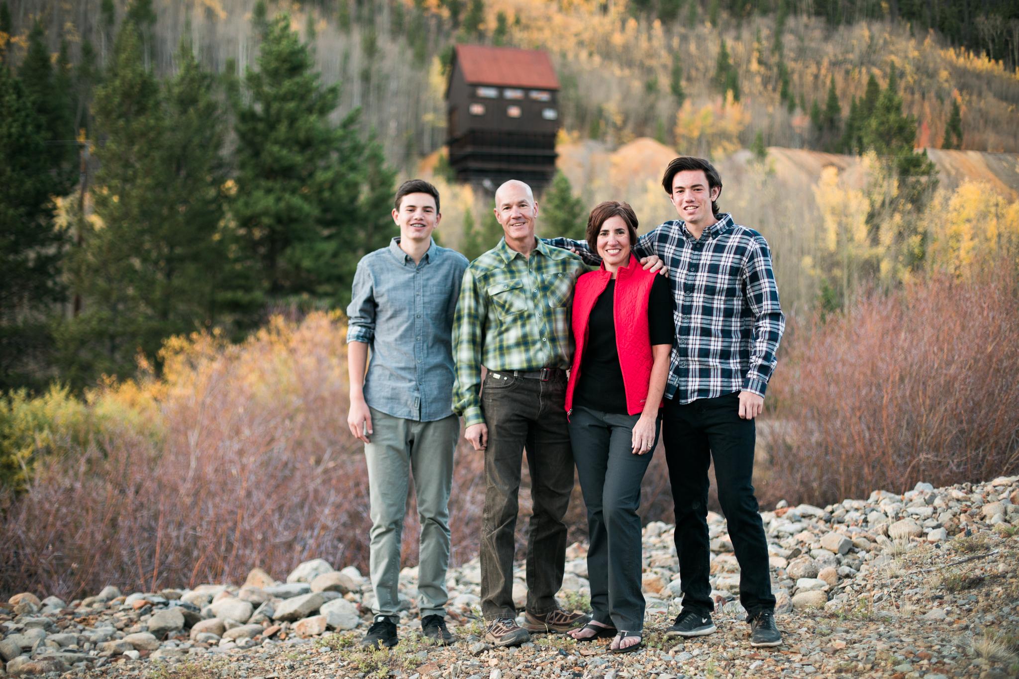 haynes family photography breckenridge