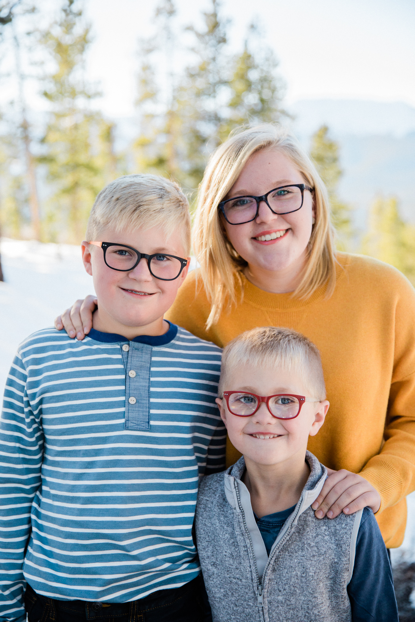 king winter family photography breckenridge