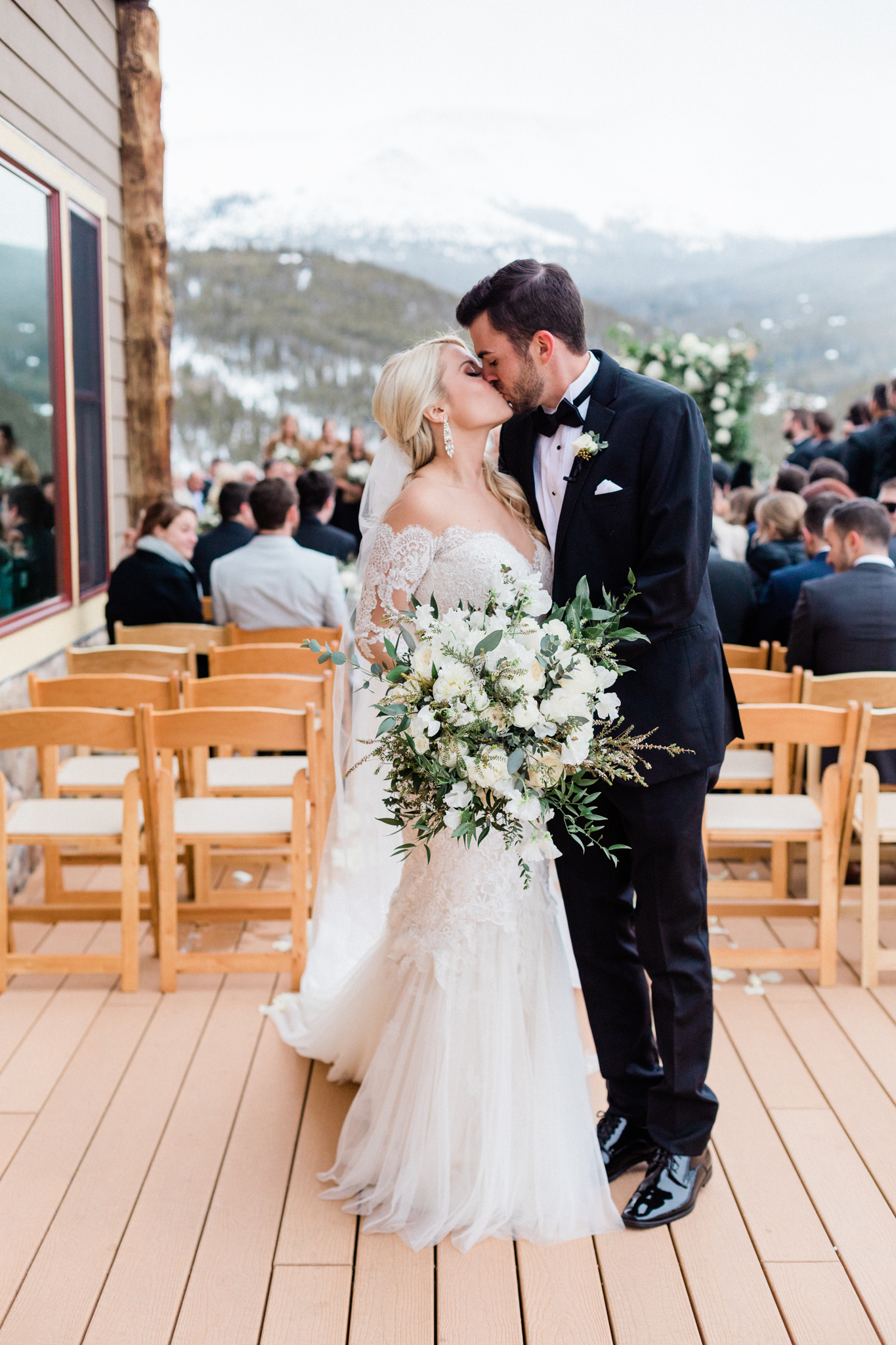 Lodge at Breckenridge Winter Wedding