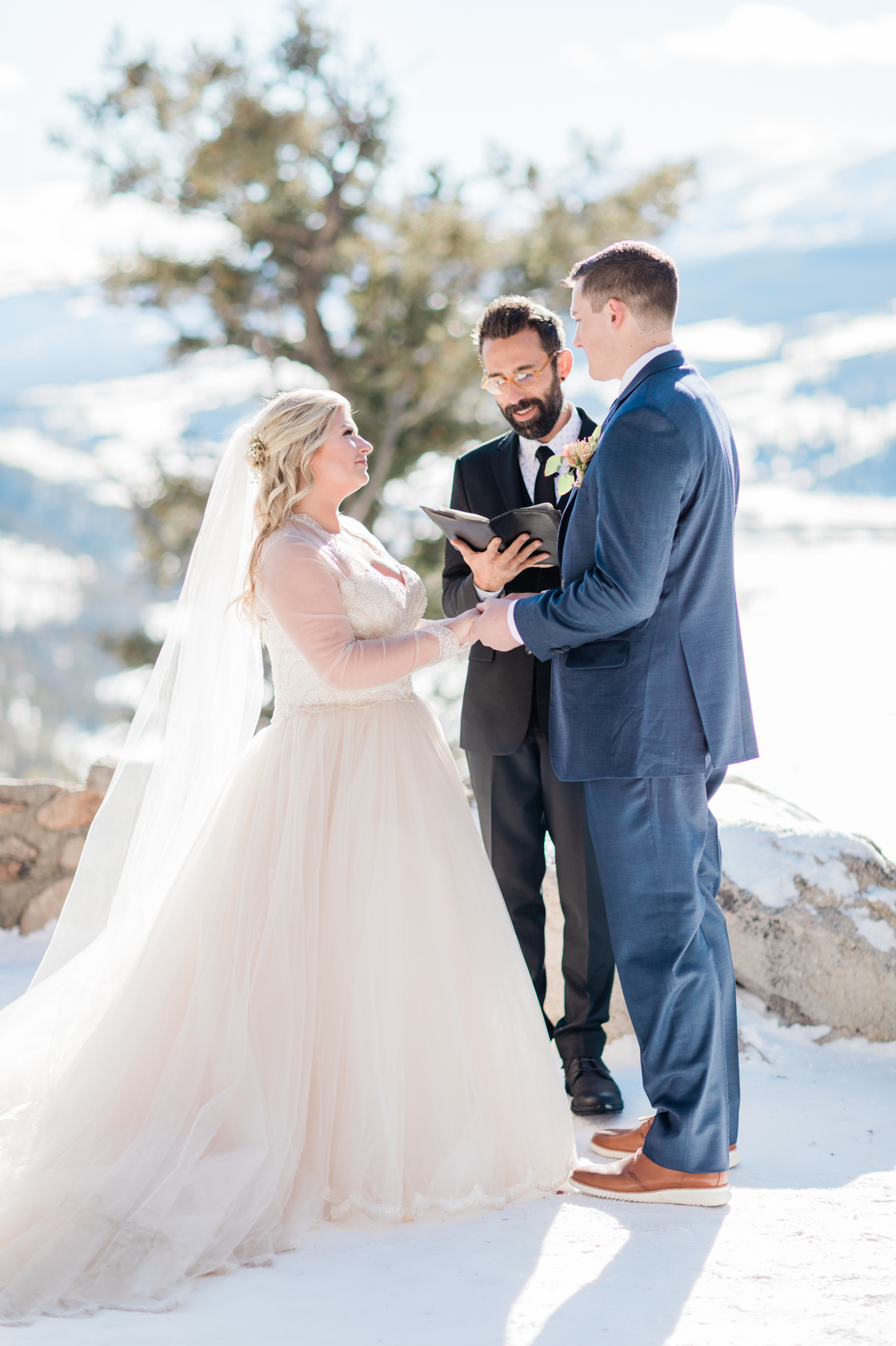 Sapphire Point Winter Wedding Colorado