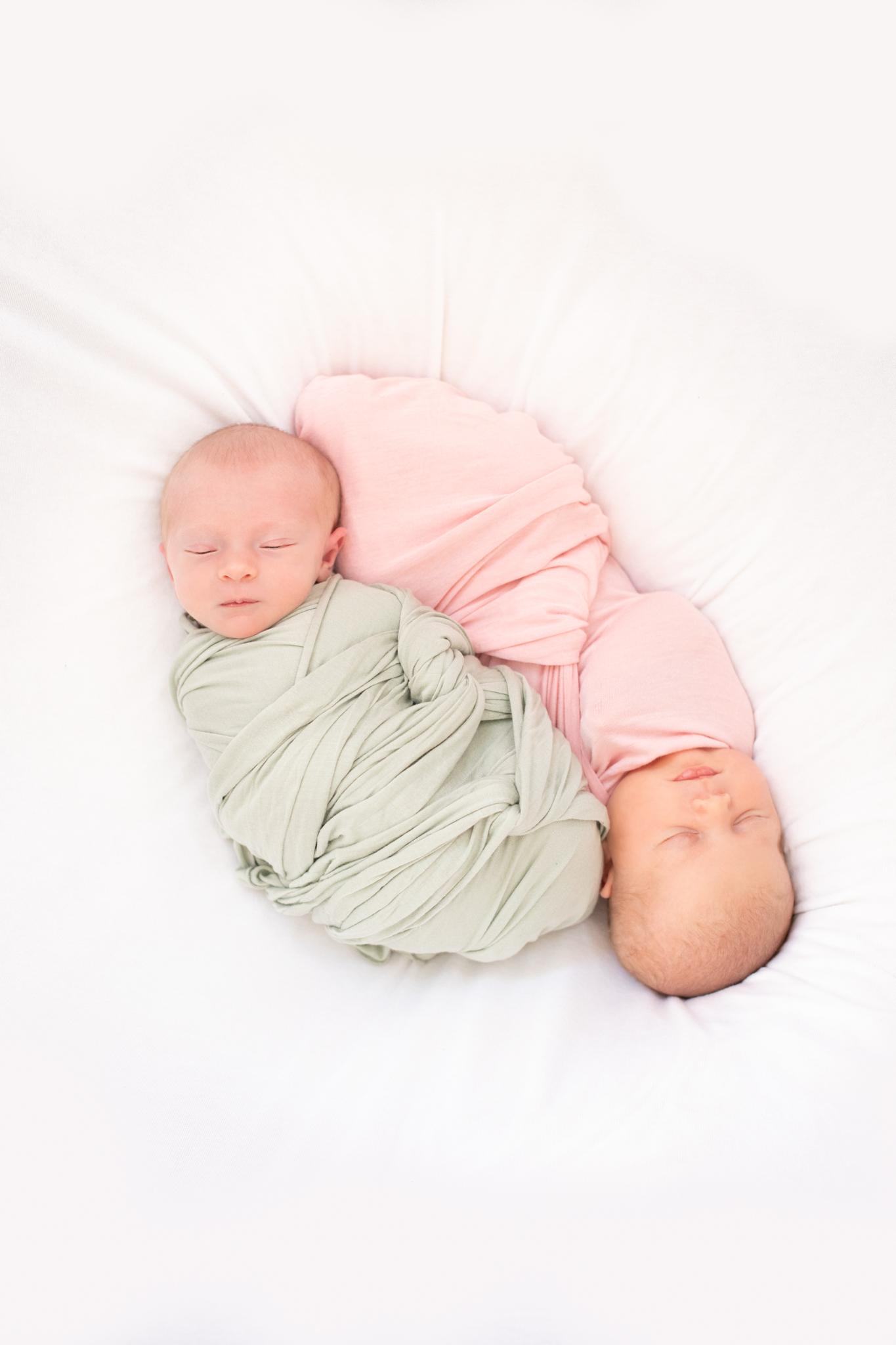Addison and Olivia Newborn Session