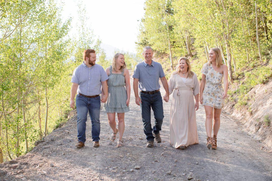 Boreas Pass Road Summer family portrait session