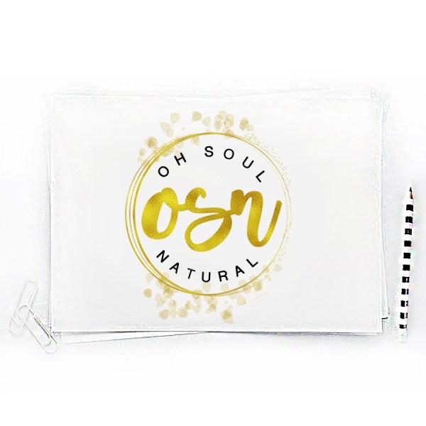 Logo Design for Oh Soul Natural Brand