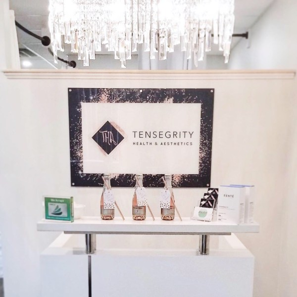 Acrylic Sign Design and Printing for Tensegrity Medspa