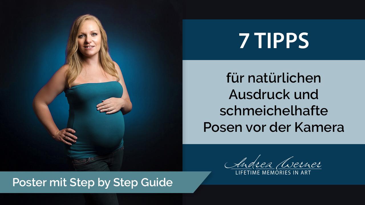 7 Tipps für natürlichen Ausdruck und schmeichelhafte Posen vor der Kamera