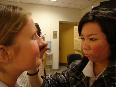 Make-up for Stage Door by George S. Kaufman & Edna Ferber