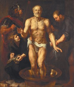 Peter Paul Rubens: The Death of Seneca, 1612–1613