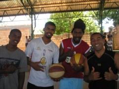 Zulu, Paulo, Edgar e The Professor