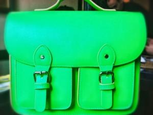 Cambridge bag neon - Andreea Ibacka